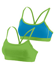 Augusta 2416 Girls Encore Reversible Sports Bra at GotApparel