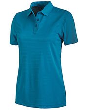 Charles River Apparel 2516 Women's Shadow Stripe Polo at GotApparel