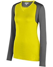 Augusta 2522  Lds Astonish Lng Sleeve Jersey at GotApparel