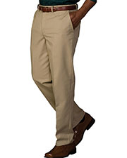 Edwards 2578 Men Easy Fit Chino Flat Front Pant at GotApparel