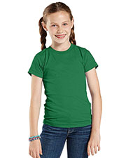 LAT 2605 Girls' Vintage Short Sleeve T-Shirt at GotApparel