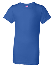 LAT 2616  Girls' Jersey Longer Length T-Shirt at GotApparel