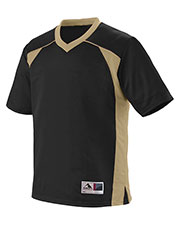 Augusta 261 Boys Victor Replica Short Sleeve Jersey at GotApparel