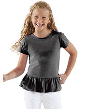 LAT 2627 Girls Fine Jersey Tee at GotApparel