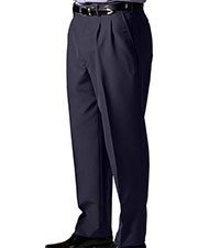 Edwards 2650 Men's Lightweight Wool Blend Pleated Dress Pant at GotApparel