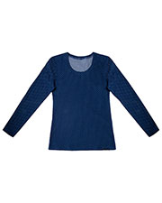 Cherokee 2655 Women Reversible Knit Top at GotApparel
