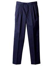 Edwards 2670 Men Moisture Wicking Chino Pleated Pant at GotApparel