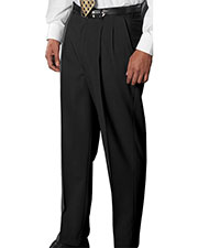 Edwards 2680 Men Wool Blend Pleated Dress Pant at GotApparel