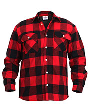 Rothco 2739 Men Fleece Lined Flannel Shirt at GotApparel