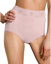 Bali 2744 Women Lacy Skamp Brief Panty at GotApparel