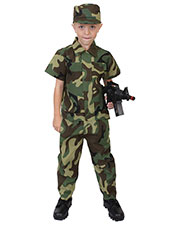Rothco 2756 Boys Kids Camouflage Soldier Costume at GotApparel