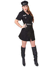 Rothco 2758 Women Black Police Costume at GotApparel