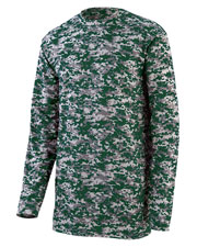 Augusta 2788 Men Digi Camo Wicking Long Sleeve T-Shirt at GotApparel