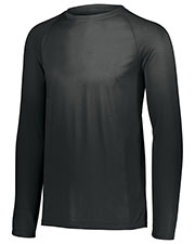 Augusta 2796 Boys Attain Wicking Long Sleeve Shirt at GotApparel