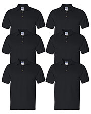 Gildan G280 Men Ultra Cotton 6 Oz. Jersey Polo 6-Pack at GotApparel