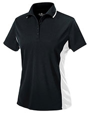 Charles River Apparel 2810 Women Color Blocked Wicking Polo at GotApparel