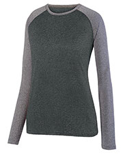 Augusta 2817    Kinergy Two Color Long Sleeve Raglan Tee at GotApparel