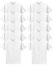 Jerzees 29M Men 5.6 Oz. 50/50 Heavyweight Blend T-Shirt 10-Pack at GotApparel