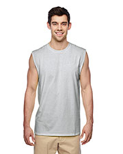 Jerzees 29SR Men DriPOWER ACTIVE Adult Sleeveless Shooter T-Shirt at GotApparel
