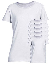 Jerzees 29WR Women 5.6 Oz. 50/50 Heavyweight Blend T-Shirt 6-Pack at GotApparel