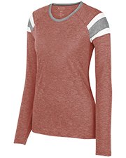 Augusta 3012  Ladies Long Sleeve Fanatic Tee at GotApparel