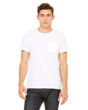 Bella + Canvas 3021 Men Jersey Short-Sleeve Pocket T-Shirt at GotApparel