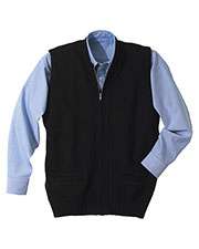 Edwards 302 Unisex Full Zip Two Pockets Cardigan Sweater Vest at GotApparel