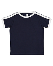 Rabbit Skins 3032 Toddler Soccer Ringer Fine Jersey T-Shirt at GotApparel