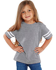 Rabbit Skins 3037 Toddlers Fine Jersey Football Tee at GotApparel