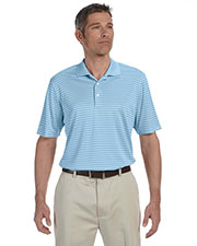 Ashworth 3046 Men Performance Interlock Stripe Polo at GotApparel