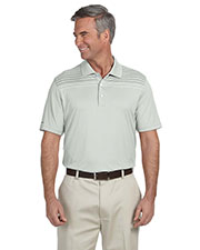 Ashworth 3047 Men Performance Interlock Print Polo at GotApparel