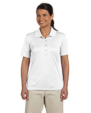 Ashworth 3050 Women Performance Interlock Solid Polo at GotApparel