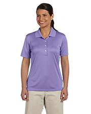 Ashworth 3050 Women's Performance Interlock Solid Polo at GotApparel