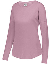Augusta 3077 Women Lux Triblend Long Sleeve T-Shirt at GotApparel