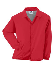 Augusta 3100 Men Lined Nylon Coach's Jacket at GotApparel
