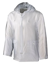 Augusta 3161 Boys Clear Rain Front Zipper Jacket at GotApparel