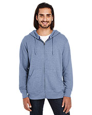 Threadfast Apparel 321Z Unisex 7.5 oz Triblend French Terry Full-Zip at GotApparel