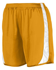 Augusta 327 Men Wicking Track Short With Side Insert at GotApparel