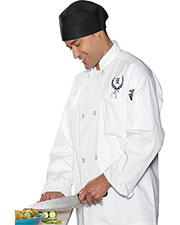Edwards 3300 Unisex Casual Full Cut Chef Coat at GotApparel