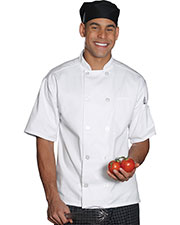 Edwards 3306 Unisex Classic Full Cut Short-Sleeve Chef Coat at GotApparel