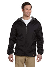 Dickies Workwear 33237 Men Fleece-Lined Hooded Nylon Jacket at GotApparel
