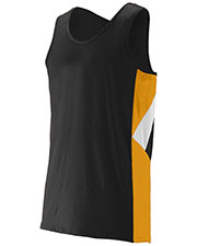 Augusta 332 Men Sleeveless Sprint Running Jersey at GotApparel