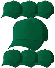 Yupoong 6533 Unisex Flexfit Ultrafibre Cap 7-Pack at GotApparel