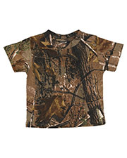 Code V 3385 Toddlers Realtree Camo Tee at GotApparel