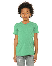 Bella + Canvas 3413y  Youth Triblend Short-Sleeve T-Shirt at GotApparel