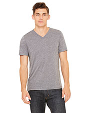 Bella + Canvas 3415C Unisex Triblend Short-Sleeve V-Neck T-Shirt at GotApparel