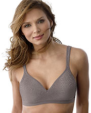 Bali 3463 Women Comfort Revolution Wirefree Bra at GotApparel