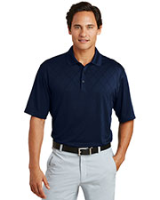 Nike 349899 Men 6 oz Dri-FIT Cross-Over Texture Polo at GotApparel