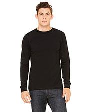 Bella + Canvas 3500 Men Thermal Long-Sleeve T-Shirt at GotApparel
