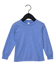 Bella + Canvas 3501T Toddler Jersey Long Sleeve T-Shirt at GotApparel